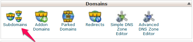 Add a Subdomain