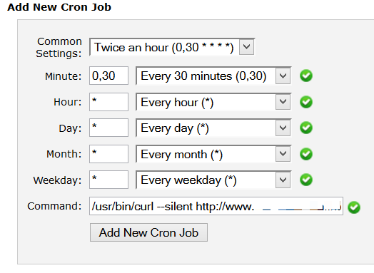 Add a Cron Job