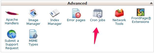 Arvixe Cron Job